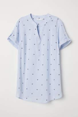 H&M MAMA Blouse - Blue