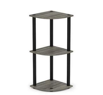 Ebern Designs Baril Corner Unit Bookcase