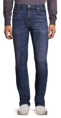 Vince Drop-Rise Faded Jeans