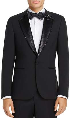 Paul Smith Sequin Lapel Slim Fit Tuxedo Jacket $1,095 thestylecure.com