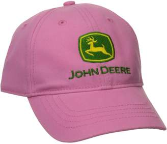 John Deere Little Girls' Trademark Baseball Cap