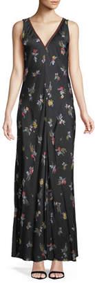 Forte Forte Highlands Floral Satin Maxi Dress
