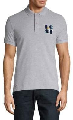 Lacoste Logo Cotton Polo