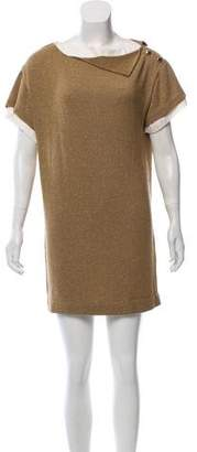 3.1 Phillip Lim Metallic Knit Dress