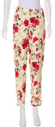 Ellen Tracy High-Rise Skinny Pant red High-Rise Skinny Pant