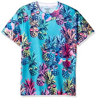 Margaritaville Men's Pineapples Sublimated Tshirt