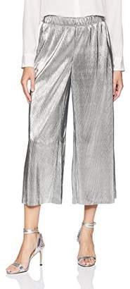 Kensie Women's Pleated Shine Midi Pant