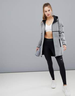 Only Play long hoodie jacket