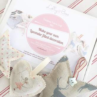 Your Own Lolly & Boo Fabulous Fabric Craft Kits Make Decoration