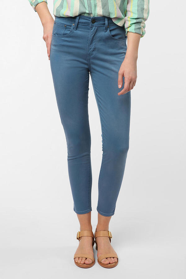 Levi's High-Rise Skinny Ankle Jean - Blue