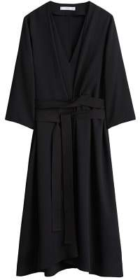 MANGO Bow pleats dress