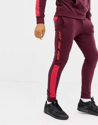Fly London Blend the flag sweatpants two-piece
