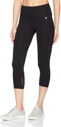 Champion Women's Mesh Capri Legging