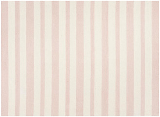 One Kings Lane Foii Kids' Rug - Pink/Ivory