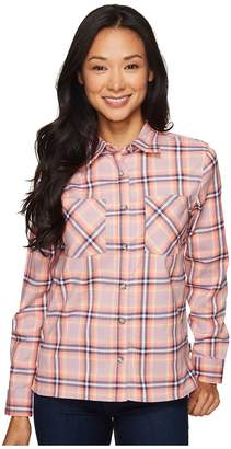 Mountain Hardwear Stretchstone Boyfriend Long Sleeve Shirt Women's Long Sleeve Button Up