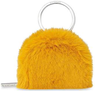 Whistles Faux Fur Coin Purse Key Ring 8122ddc576