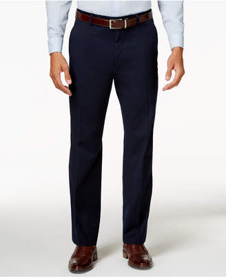 Alfani Men's Traveler Navy Solid Classic-Fit Pants