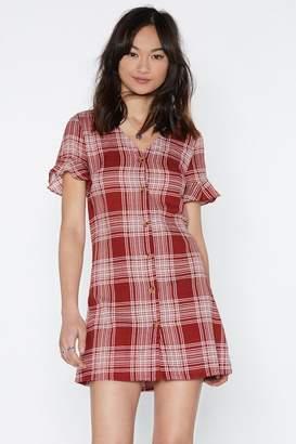 Nasty Gal On the Square Mini Dress