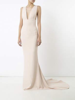 Stella McCartney Plunging v-neck gown