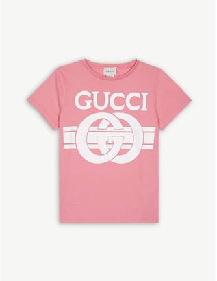 e6cdcaa54b97 Gucci Logo print T-shirt 4-12 years