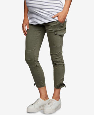 1e73ff563e471 A Pea in the Pod Maternity Skinny Cargo Pants