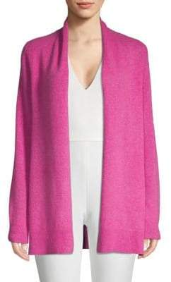 Saks Fifth Avenue Textured Cashmere Open Front Cardigan