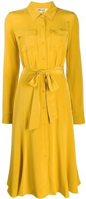 Diane von Furstenberg tie-waist shirt dress