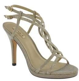 Menbur Gerbera T-Strap Sandals $117 thestylecure.com