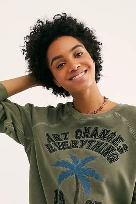 Zadig & Voltaire Upper Brode Palm Sweatshirt