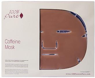 100% Pure Caffeine Mask 5 Pack