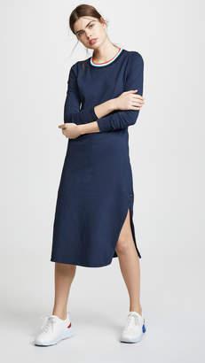 Sol Angeles Vintage Jersey Sol Midi Dress