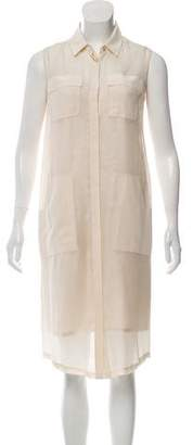 Raoul Silk Midi Dress