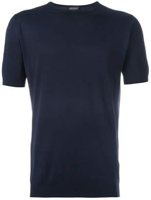 John Smedley fine knit short sleeve top