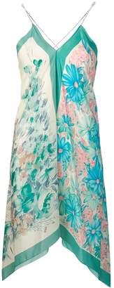 Semi-Couture Semicouture floral print longline vest