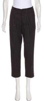 Rozae Nichols Wool Mid-Rise Pants