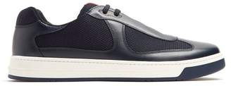 Prada Nevada Bike Low Top Trainers - Mens - Navy