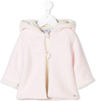 Tartine et Chocolat knitted hooded coat