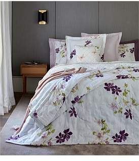 Yves Delorme Clematis Queen Bed Duvet Cover 210 x 210