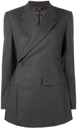 Theory side button blazer
