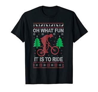 Ezcosplay Women's OH What Fun Print Casual Christmas T-Shirt