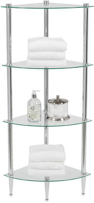 Creative Bath Accessories, 4 Shelf Corner Tower Bedding