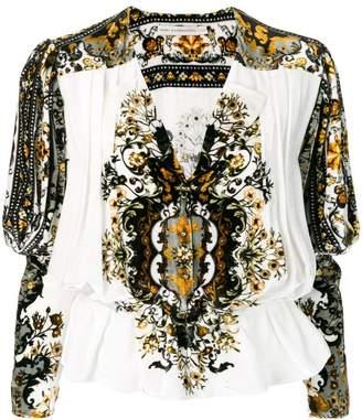 Mary Katrantzou carpet print blouse