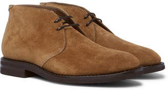 Brunello Cucinelli Suede Chukka Boots - Tan