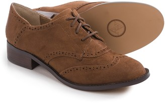 Adrienne Vittadini Biome Oxford Shoes - Leather (For Women) $39.99 thestylecure.com