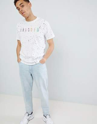 Mennace Color Embroidered T-Shirt