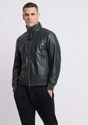 Emporio Armani Leather Jacket