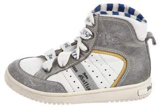 John Galliano Boys' High-Top Lace-Up Sneakers