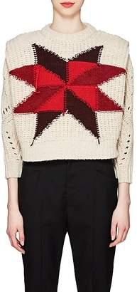 Isabel Marant Women's Hadyn Star-Knit Wool-Blend Sweater