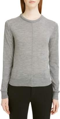 Chloé Scallop Detail Wool Sweater