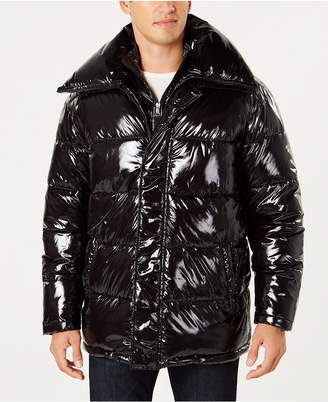 INC International Concepts I.n.c. Men's Glossy Oversized Puffer Coat